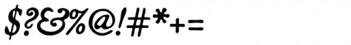 Broadsheet Italic Font OTHER CHARS