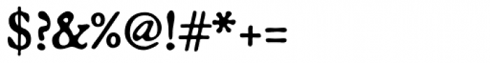 Broadsheet Lining Font OTHER CHARS