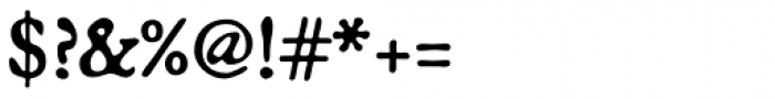 Broadsheet Font OTHER CHARS