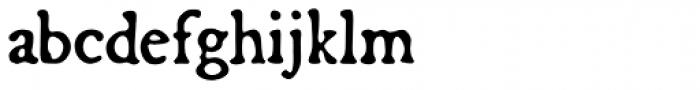 Broadsheet Font LOWERCASE