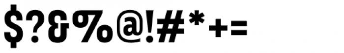Broadside Bold Condensed Font OTHER CHARS