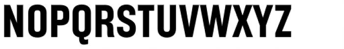 Broadside Bold Condensed Font UPPERCASE