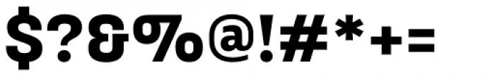 Broadside Bold Font OTHER CHARS