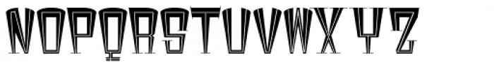Broadstreet Regular Font UPPERCASE