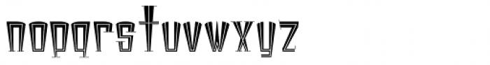 Broadstreet Regular Font LOWERCASE