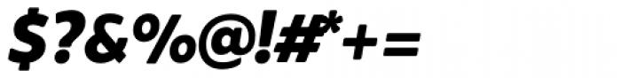 Brocha Black Italic Font OTHER CHARS