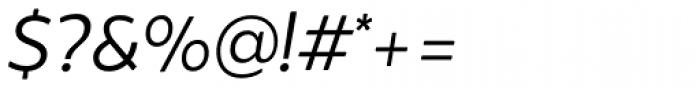 Brocha Book Italic Font OTHER CHARS
