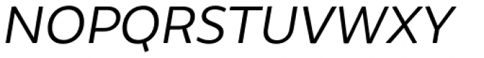 Brocha Book Italic Font UPPERCASE