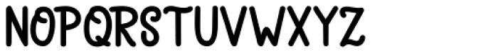 Brochette Regular Font UPPERCASE