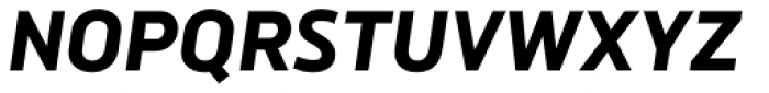 Brokman ExtraBold Italic Font UPPERCASE