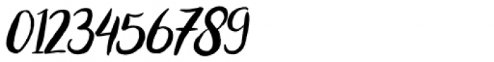 Bromello Italic Font OTHER CHARS