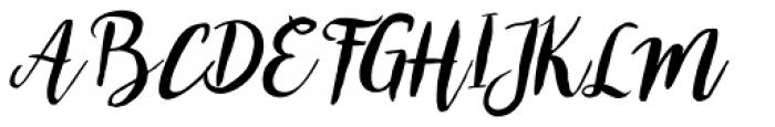 Bromello Italic Font UPPERCASE