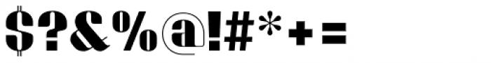 Bronsimard Black Font OTHER CHARS