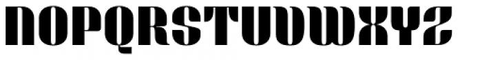 Bronsimard Black Font UPPERCASE