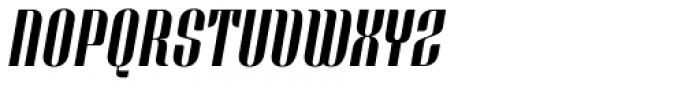 Bronsimard Italic Font UPPERCASE