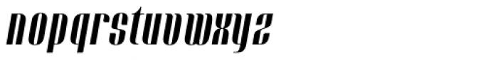 Bronsimard Italic Font LOWERCASE