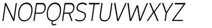 Bronto Book Italic Font UPPERCASE
