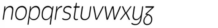 Bronto Book Italic Font LOWERCASE