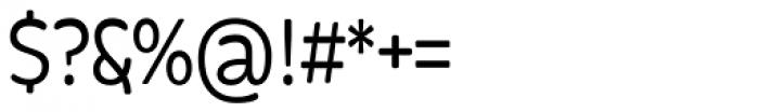 Bronto Medium Font OTHER CHARS