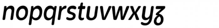 Bronto SemiBold Italic Font LOWERCASE
