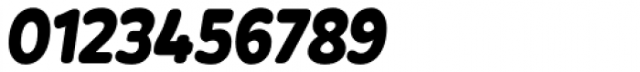 Bronto UltraBlack Italic Font OTHER CHARS