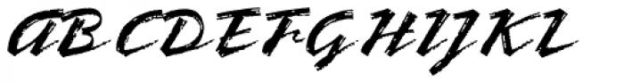 Bronx Std Font UPPERCASE