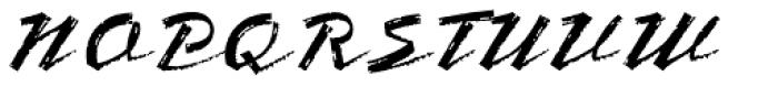 Bronx Font UPPERCASE
