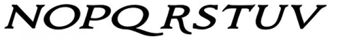 Bronzino Oblique Font LOWERCASE