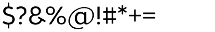 Brooklyn Samuels Five Light Font OTHER CHARS