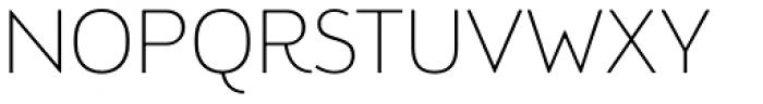 Brooklyn Samuels Five Thin Font UPPERCASE
