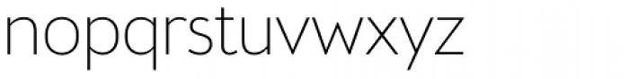 Brooklyn Samuels Five Thin Font LOWERCASE
