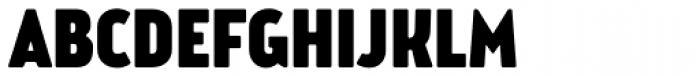 Brooklyn Samuels Four Fat Font UPPERCASE