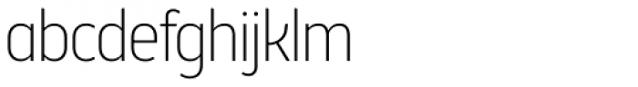 Brooklyn Samuels Four Thin Font LOWERCASE