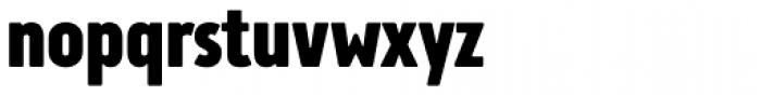 Brooklyn Samuels Three Bold Font LOWERCASE