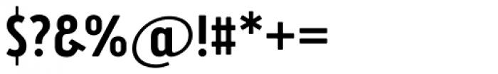 Brooklyn Samuels Three Medium Font OTHER CHARS