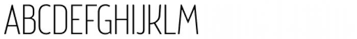 Brooklyn Samuels Three Thin Font UPPERCASE