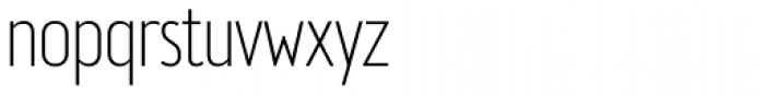 Brooklyn Samuels Three Thin Font LOWERCASE