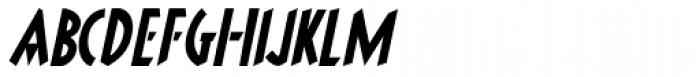 Brooklyner Italic Font LOWERCASE