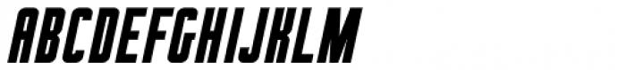 Brookside Oblique JNL Font LOWERCASE