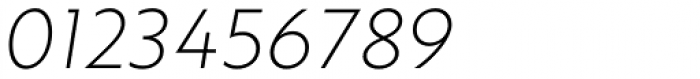 Brother 1816 Thin Italic Font OTHER CHARS