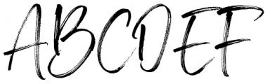 Brother Home Regular Font UPPERCASE