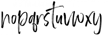 Brother Home Regular Font LOWERCASE