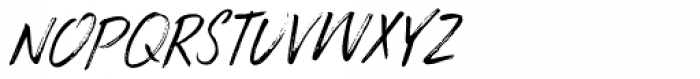 Brouillard Italic Font UPPERCASE