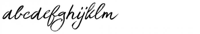 Brouillard Italic Font LOWERCASE