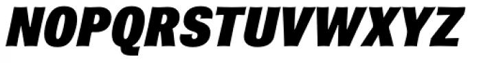 Brown Pro ExtraBlack Italic Font UPPERCASE