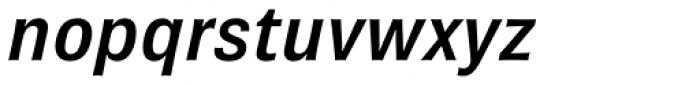 Brown Pro SemiBold Italic Font LOWERCASE