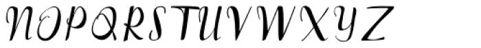 Brownies Script Font UPPERCASE