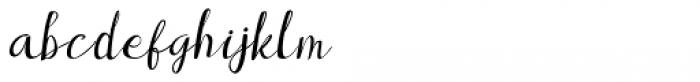 Brownies Script Font LOWERCASE