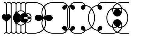 Brownstone Frames Hole Font OTHER CHARS
