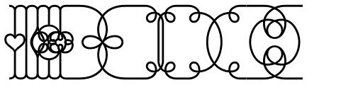 Brownstone Frames Light Font OTHER CHARS